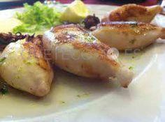 Chipirones del restaurante mesón y tapería Benfeito en Vigo.