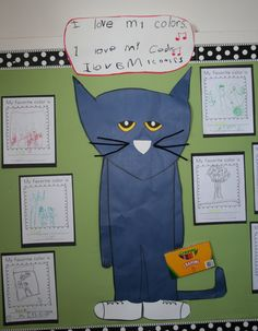 Learning With Mrs. Parker: Learning with Pete the Cat
