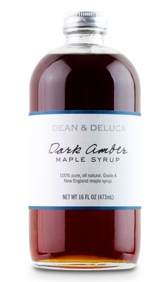 Dean & Deluca maple syrup, for waffle lovers
