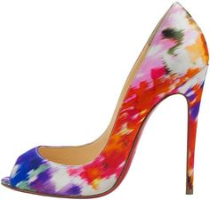Everything's Coming Up Roses for Christian Louboutin