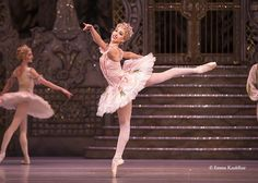 The Royal Ballet - Principal ballerina Yasmine Naghdi in Peter Wright's The Nutcracker - by courtesy of the ROH