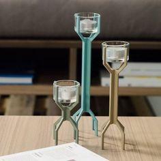 3 Shanghai Votive Holders by Steelwood Concept #Candle, #Design, #Elegant, #Holder