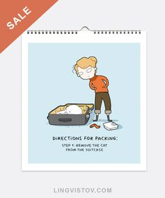 Sale - 5USD for cat print books + shipping! #cats #illustration