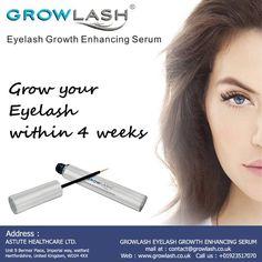 Grow your #Eyelash within 4 weeks
