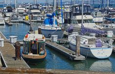 The water taxi at Pier 39, San Francisco.