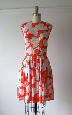 vintage 1960s dress / 60s mod dress / Peppermint Twist by Dronning, $62.00