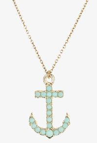 Forever 21 Accessories - Opaque Anchor Necklace  $1.50 | Reminds me of Amparo's Michael