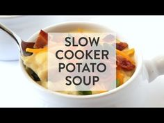 Slow Cooker Potato Soup   Gimme Some Oven