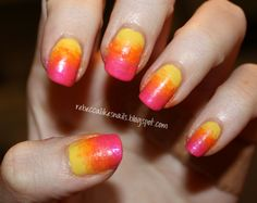 rebecca likes nails: how do a gradient