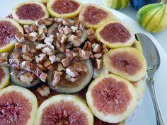 Raw Food Blog » Creamy Fig Torte