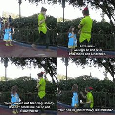 Keeping the Magic Alive. I've got the biggest smile on my face, Peter Pan is literally the best part of the Disney parks because they are mischievous, caring, kind, and hilarious Disney Facts, Disney Memes, Disney Quotes, Disney And Dreamworks, Disney Pixar, Walt Disney, Disney Ships, Disney Princes, Fandoms