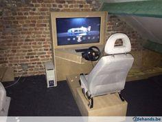 "Race arcade incl 42"" tv"