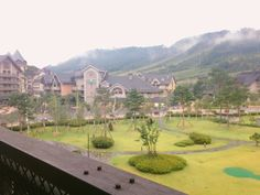 Somewhere to stay. At Pyeongchang Alpensia Hotel