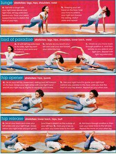 stretching…