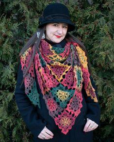 Crochet Fall, Crochet Accessories, Scarfs, Shawl, Ponchos, Crocheting, Tejidos, Scarves
