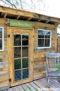 Projet de cabane de palettes pour le jardin 1