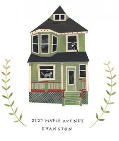 House Portrait by Rebekka Seale