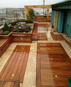 Pin By Judy Courtney White On Deck Ideas Rooftop Design Patio Design Colorful Patio