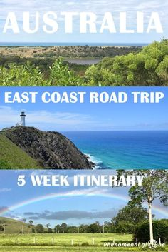 Make the most of your East Coast Australia road trip with this detailed Cairns to Melbourne itinerary! Including all the highlights (Great Barrier Reef, Whitsunday Islands, Brisbane, Sydney, the Great Ocean Road and much more), free campsites and travel tips. #australia #roadtrip #itinerary #TravelDestinationsUsaEastCoast #AustraliaTravelBrisbane