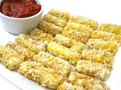 TGI Friday's Mozzarella Sticks Made Skinny with Weight Watchers Points | Skinny Kitchen