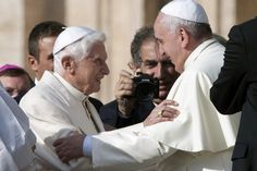 """The peculiar Benedict complex . """"The post-Benedict Church has only just begun to deal with the newly created institution of the """"Bishop-emeritus of Rome"""". The """"Benedict complex"""" tends to pit Pope Francis against his predecessor in a rivalry, if not a hostile relationship, which ends in a zero-sum game."""""""