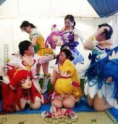 Pretty Cure, Fursuit, Mascot Costumes, Hatsune Miku, Behind The Scenes, The Cure, Nerd, Japan, Anime