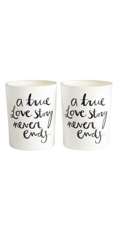 Love story cups