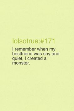#BestFriends LOL!!!My bff did this to me and I did this to her!!!!!