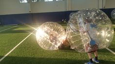 Bubble Ball at Battleground Academy with Crosspoint Church, July 15, 2015