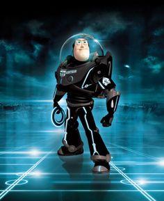 Tron - Buzz enters