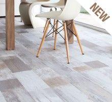 Home plus Stick - Painted Grey (Limited edition): Zelfklevende pvc vloer (589)