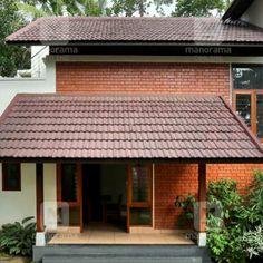 Home Discover എങങന സനതഷകകതരകക ഇതപല ഒര വട ലഭചചൽ! Modern Brick House, New Modern House, Modern Small House Design, Contemporary House Plans, Village House Design, House Front Design, Village Houses, Indian Home Design, Kerala House Design
