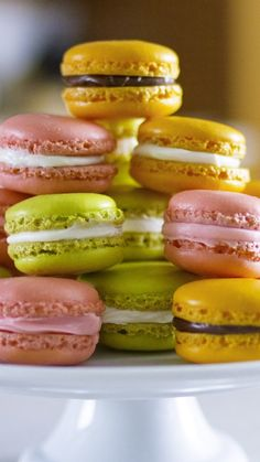 Make these beautiful French macarons at home via @AOL_Lifestyle Read more: https://www.aol.com/article/lifestyle/2017/02/14/best-bites-french-macarons/21713718/