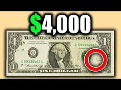 Do you have a rare dollar in your wallet? Look for these rare banknotes worth money in circulation. We look at fancy serial number bills and other error mone. Sell Old Coins, Old Coins Worth Money, 2 Dollar Bill Value, Valuable Coins, Valuable Pennies, Penny Values, Money Notes, Error Coins, Coin Worth