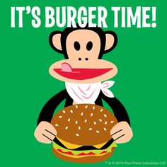 What time is it? It's burger time!