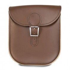 Brit-Stitch The Milkman Handbag in Brown with Buckle http://www.styledit.com/shop/brit-stitch-the-milkman-handbag-in-brown-with-buckle/
