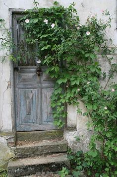 Beautiful Door In France
