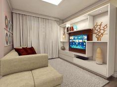 Resultado de imagem para decoração home theater
