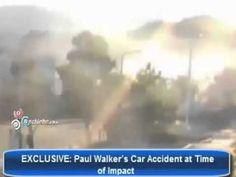 Apareció un video del accidente en que murió Paul Walker
