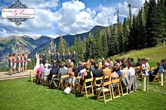 Inspiration for a Jolly Edition wedding map of Telluride. San Sophia Overlook, Ceremony site