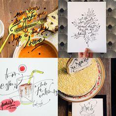 Gui Poulain - 10 designers brasileiros que criam incríveis letterings feitos à mão;