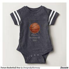 Your Custom Baby Football Bodysuit