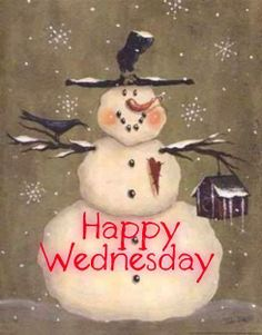 Image result for happy wednesday winter