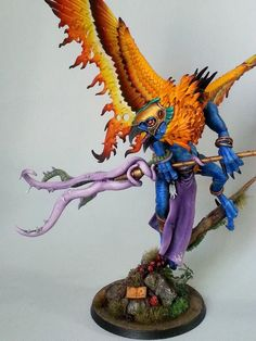 Warhammer Chaos Daemons Lord of Change by Andy Kessler.