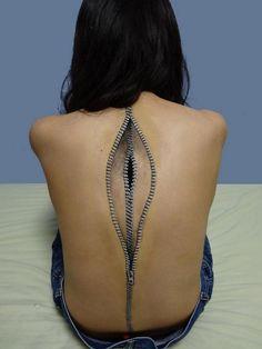 body art - la paura del tempo che passa