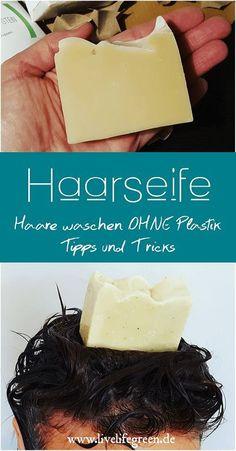 Kennt ihr eigentlich schon Haarseife? Haarseife ist eine tolle praktische und vor allem plastikfreie Alternative zum normalen Shampoo.
