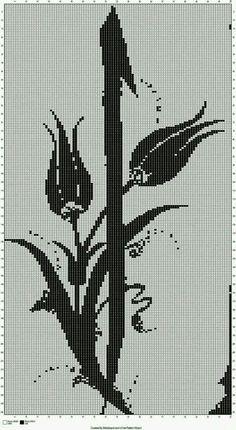 Etamin şablon (elif harfi)