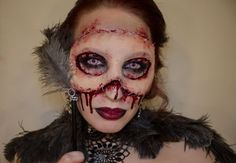 Self-Taught Artist Takes Creepy Special Effects Makeup to a Whole New Level - http://heywtfnews.com/2014/03/28/the-daily-wtf/self-taught-artist-takes-creepy-special-effects-makeup-to-a-whole-new-level/