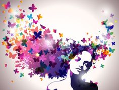 Abstract Flower Background Vector art | Download Free Vector