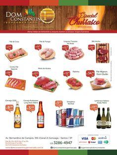 Ofertas da Semana Dom Constantin Supermercado Santos